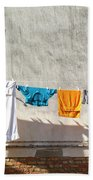 Everyday Life In Venice Bath Towel
