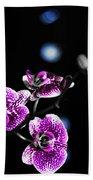 Exotic Orchid 6 V2 Bath Towel