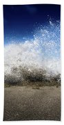 Exploding Seas Bath Towel