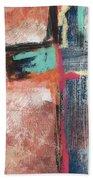 Expressionist Cross 5- Art By Linda Woods Bath Towel
