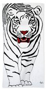 Eye Of The Tiger Hand Towel