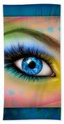 Eyetraction Bath Towel