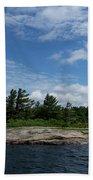 Fabulous Northern Summer - Georgian Bay Island Landscape Bath Towel