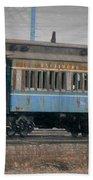 Faded Glory - B And O Railroad Car Bath Towel