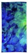 Fading Blue Bath Towel