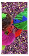 Fairies And Dragons Bath Towel