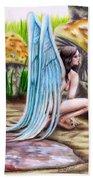 Fairy Amongst Poison Bath Towel