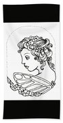 Fairy Cameo Bath Towel