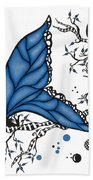 Fairy Fly Bath Towel