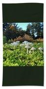 Fairytail Mushrooms Bath Towel