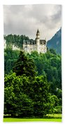 Fairytale Castle Neuschwanstein  Bath Towel