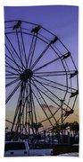Fajitaville Ferris Wheel 2 Bath Towel