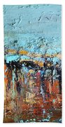 Fall Abstractions Hand Towel