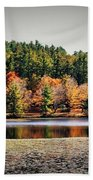 Fall At Bass Lake Bath Towel