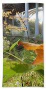 Fall At The River Bath Towel