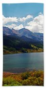 Fall Color At Trout Lake Bath Towel