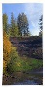 Fall Colors At South Falls Hand Towel