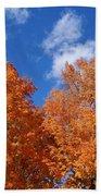 Fall Colors In Spokane Bath Towel