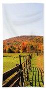 Fall Farm #4 Bath Towel