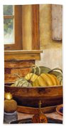 Fall Harvest Bath Towel