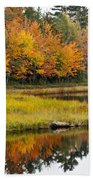 Maine Fall Bath Towel