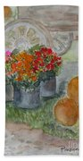 Fall In Vermont Hand Towel
