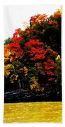 Fall On Grand Lake Bath Towel