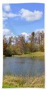 Fall Pond Bath Towel