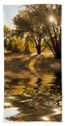 Fall Reflections Bath Towel