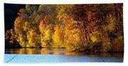 Fall Reflections Of Indiana Bath Towel