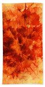 Fall Sensation Bath Towel