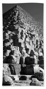 Fallen Stones At The Pyramid Hand Towel