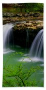 Falling Water Falls Bath Towel
