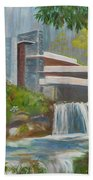 Falling Water Bath Towel