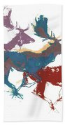 Fallow Bucks Bath Towel