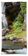 Falls Glacier National Park1 Bath Towel
