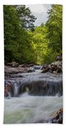Falls In The Mountains Bath Towel