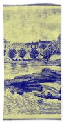 Falls Of The Schuylkill And Fort St Davids 1794 Bath Towel