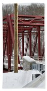 Falls Village Bridge 1 Bath Towel