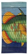 Fanciful Sea Creatures-jp3826 Bath Towel