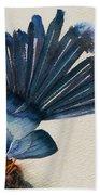 Fantail Flycatcher Bath Towel