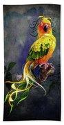 Fantasy Bird Bath Towel