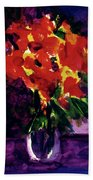 Fantasy Flowers  #107, Bath Towel