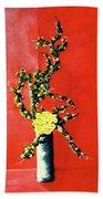 Fantasy Flowers Still Life #162 Hand Towel