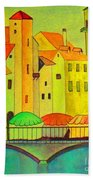 Far Away Places  Hand Towel