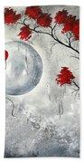 Far Side Of The Moon By Madart Bath Towel