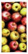 Farm Apples Bath Towel