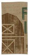 Farm Life-jp3235 Bath Towel