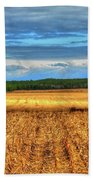 Golden Field Farm Li.ny Bath Towel