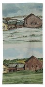 Farm Of Seasons Bath Towel